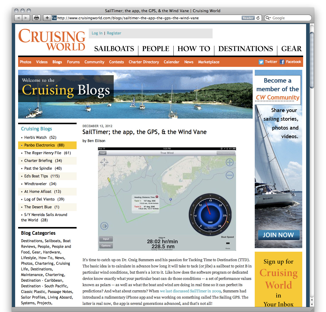 Cruising World magazine ...